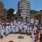 International Women's Day in Bogota, Colombia