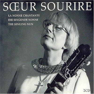 """Album cover for """"The Best of Soeur Sourire,"""" also known as the real-life singing nun"""