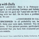 From the Stacks: He Plays With Dolls