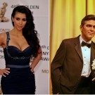 George Clooney Is a Bachelor, Kim Kardashian Is a Spinster