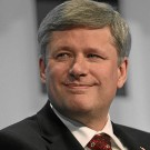 Stephen Harper by Remy Steinegger - grey