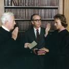 sandra day o'connor swearing in