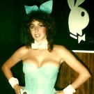 Bunny Lili at NYC Playboy Club 1978