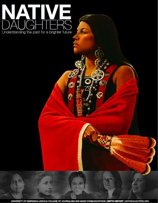 ID: Photo of native daughters magazine cover