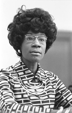 ID: shirley chisholm, a founder of of the feminist party