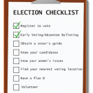 Have You Completed Your Pre-Election Checklist?