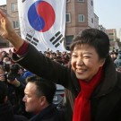 South Korea Elections Park