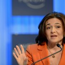 Sheryl Sandberg Leans In with Ms.
