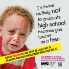 """Mom, You Suck for Having Me""–New York Disparages Teen Parents"