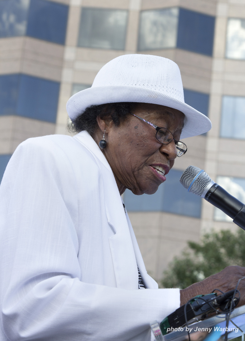 Moral Monday July 15th  focusing on women's issualso 92 y.o. Rosanell Johnson Eaton of Franklin County, NC--plaintiff in voting rights lawsuit
