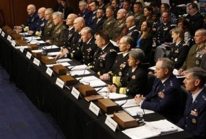 Congress is challenging top brass' the handling of sexual assault.