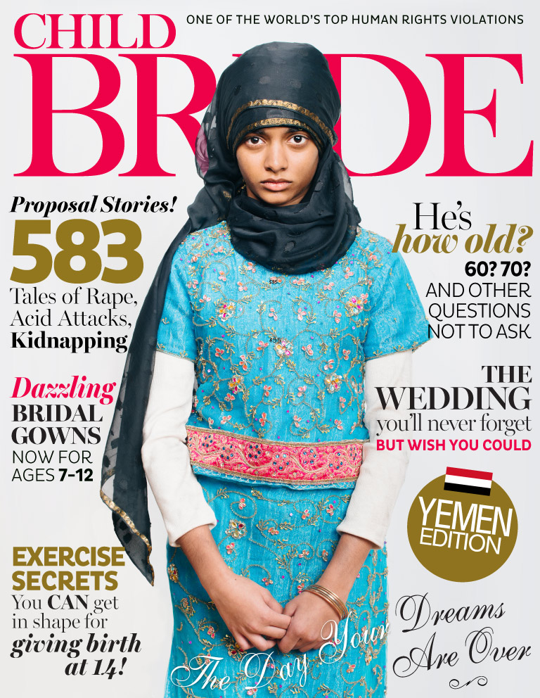 We Heart: Fake Magazine Covers That Expose Real Inequality