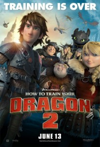 How to train your dragon 2 theatrical poster