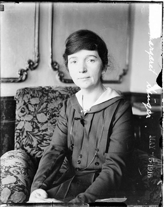 the goal of margaret sanger was to give women