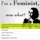 Theater Uses Feminist Quiz to Promote Play