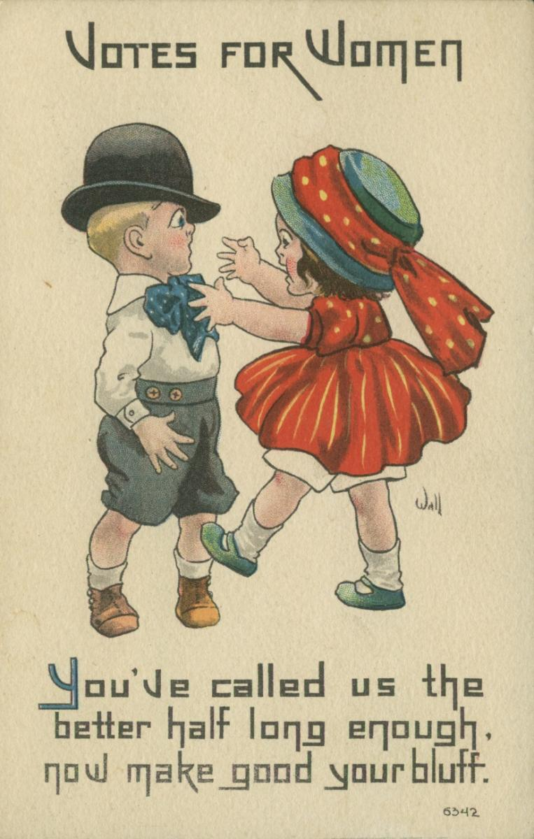 holiday card picture ideas for couples - Votes for Women 7 Vintage Suffrage Valentines Ms