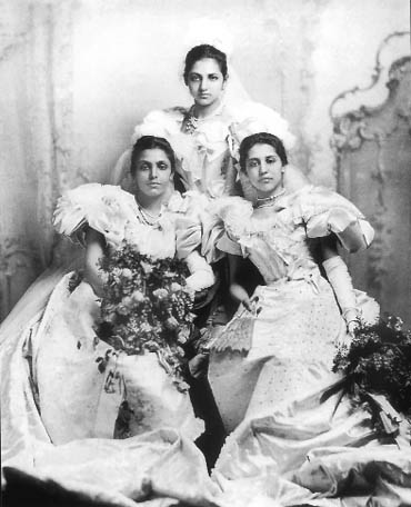 Sophia Duleep Kaur Singh, right, seen with her daughters Bamba and Catherine