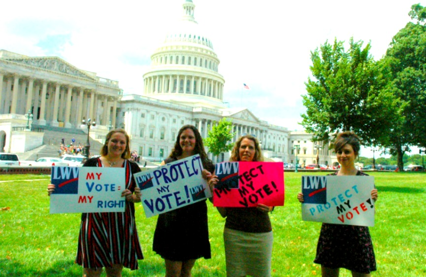 LWV protect voting rights act