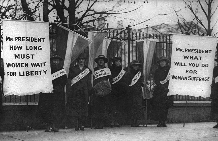 woodrow wilson women's suffrage