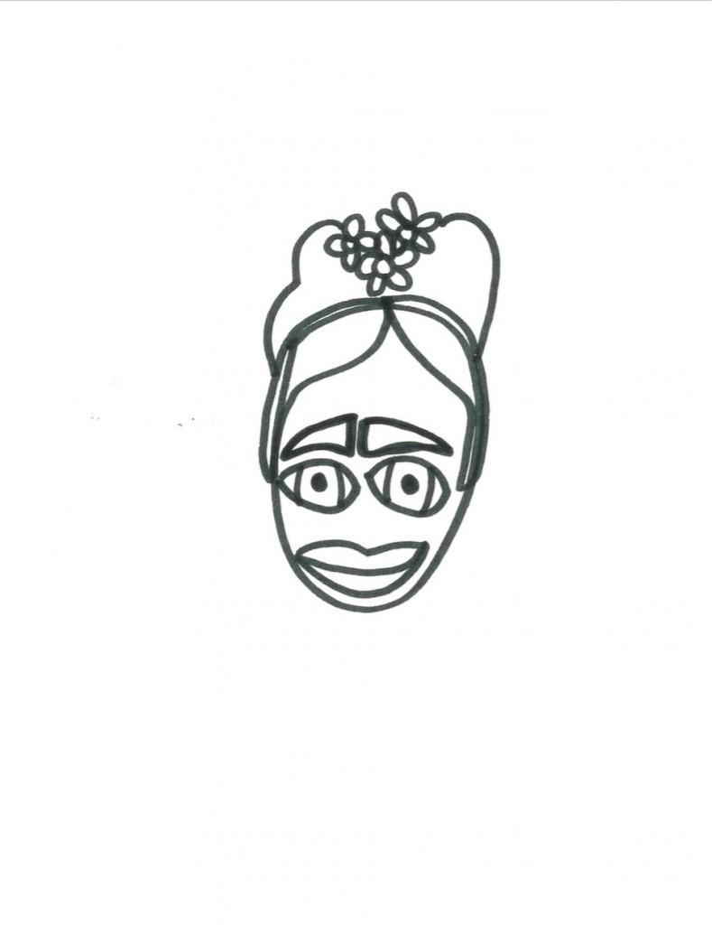 Frida Kahlo by Grace Miceli