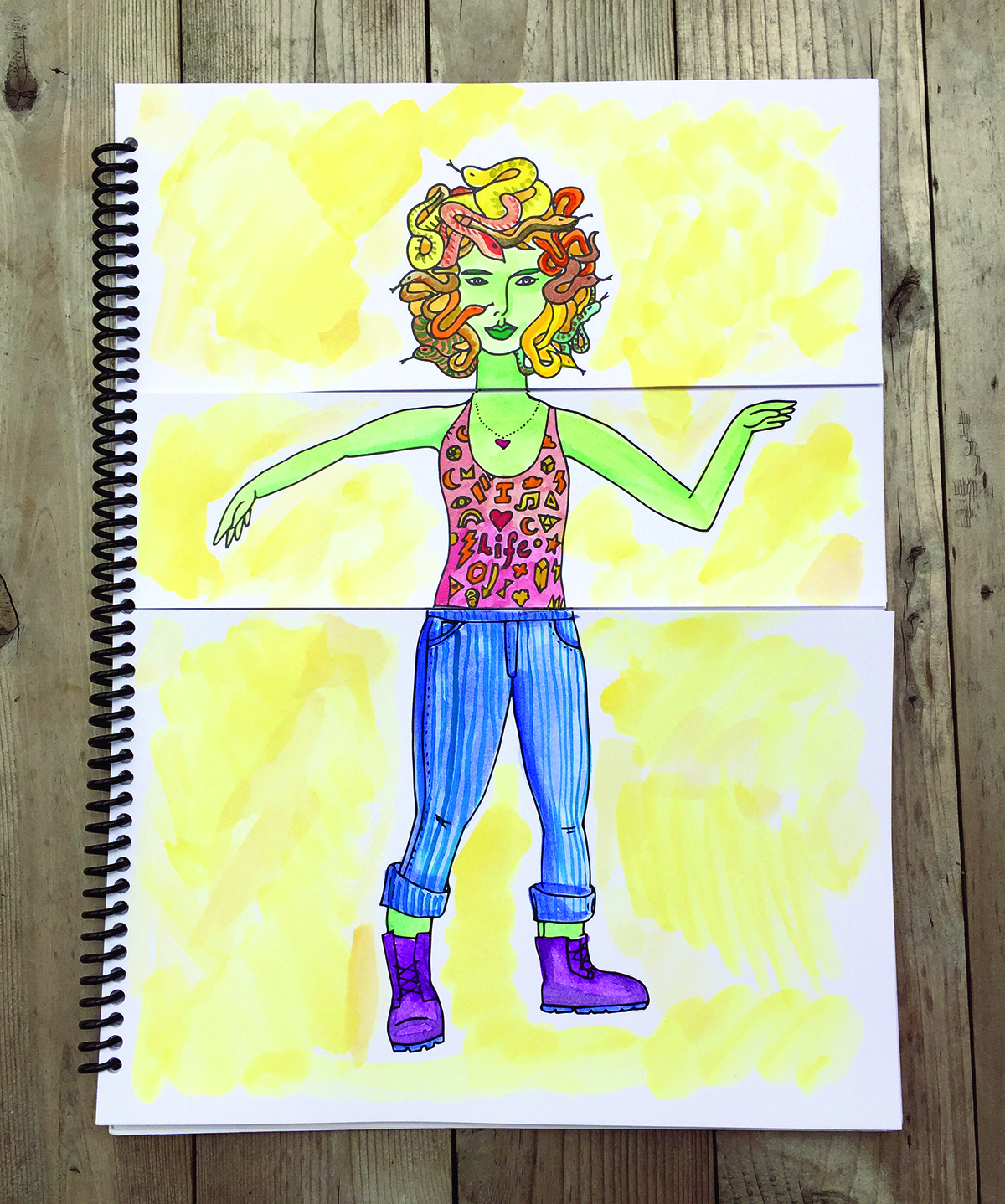 New Coloring Book Lets You Create Your Own Feminist Icon - Ms ...