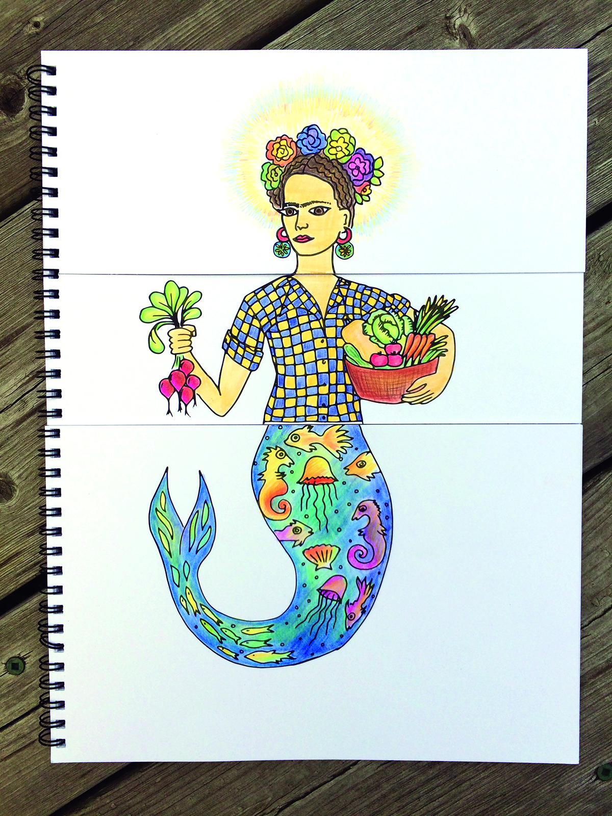 saintfrida - Create Your Own Coloring Book