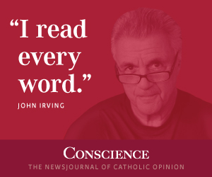 I read every word - John Irving