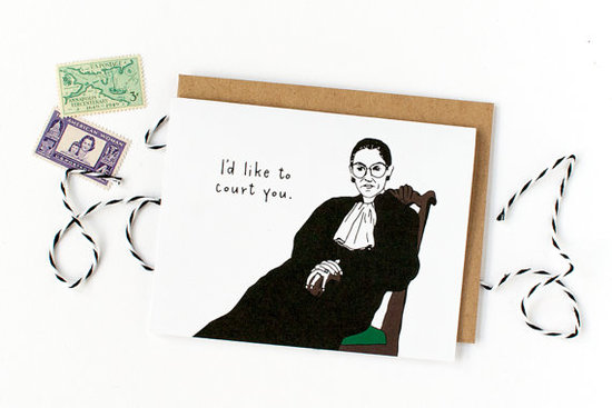 Ruth Bader Ginsburg. Sheu0027s Awesome. This Card Is Awesome. Make Valentineu0027s  Day Awesome.