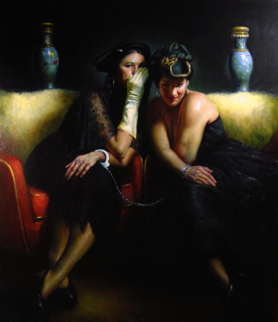 Whispering_Sisters-_60x52_-oil_on_linen-2007_qcczkk