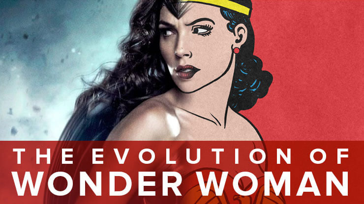 Wonder Woman Infographic HEADER