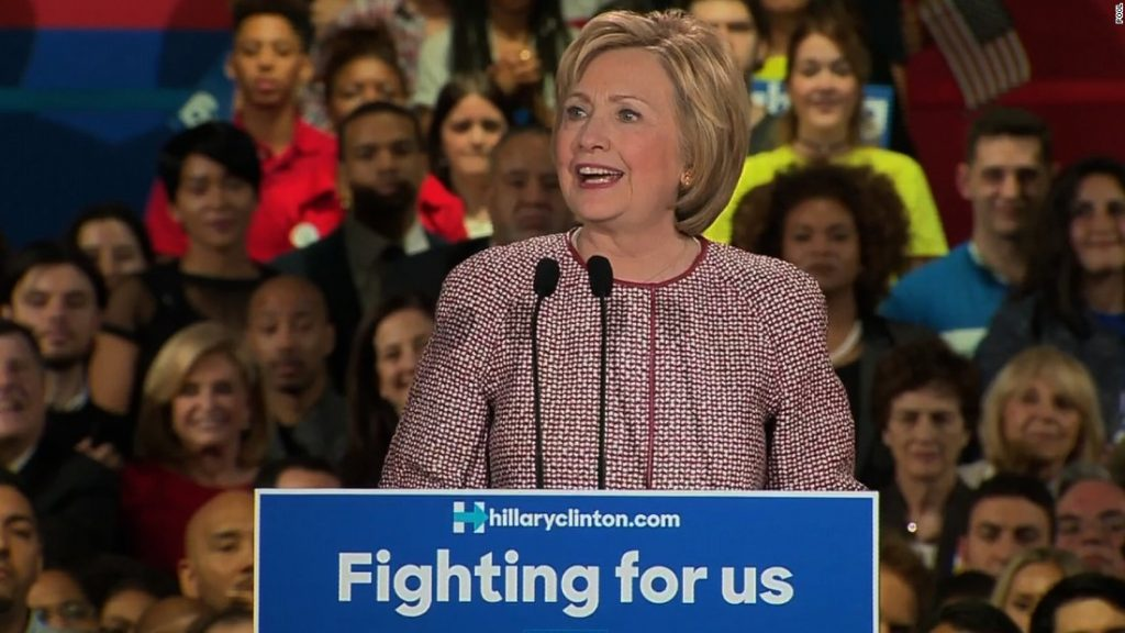 Via Cnn S Video Of Hillary Clinton Sch