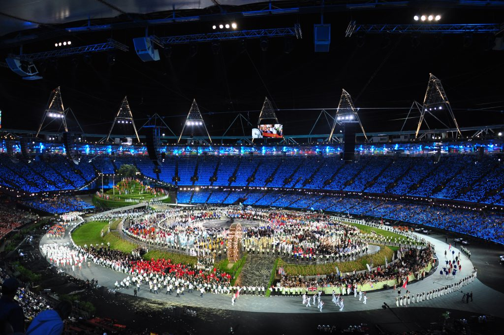 The 2012 games via Wikimedia
