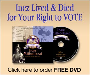 Inez lived and died for your right to vote