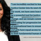 Akila Radhakrishnan is Now at the Helm of the Global Justice Center's Powerful Work for International Human Rights