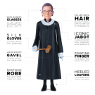 We Heart: The Ruth Bader Ginsburg Action Figure Fueling Gender Equality