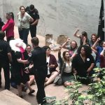Dozens of Feminists Protesting Brett Kavanaugh's Nomination Were Arrested on Capitol Hill