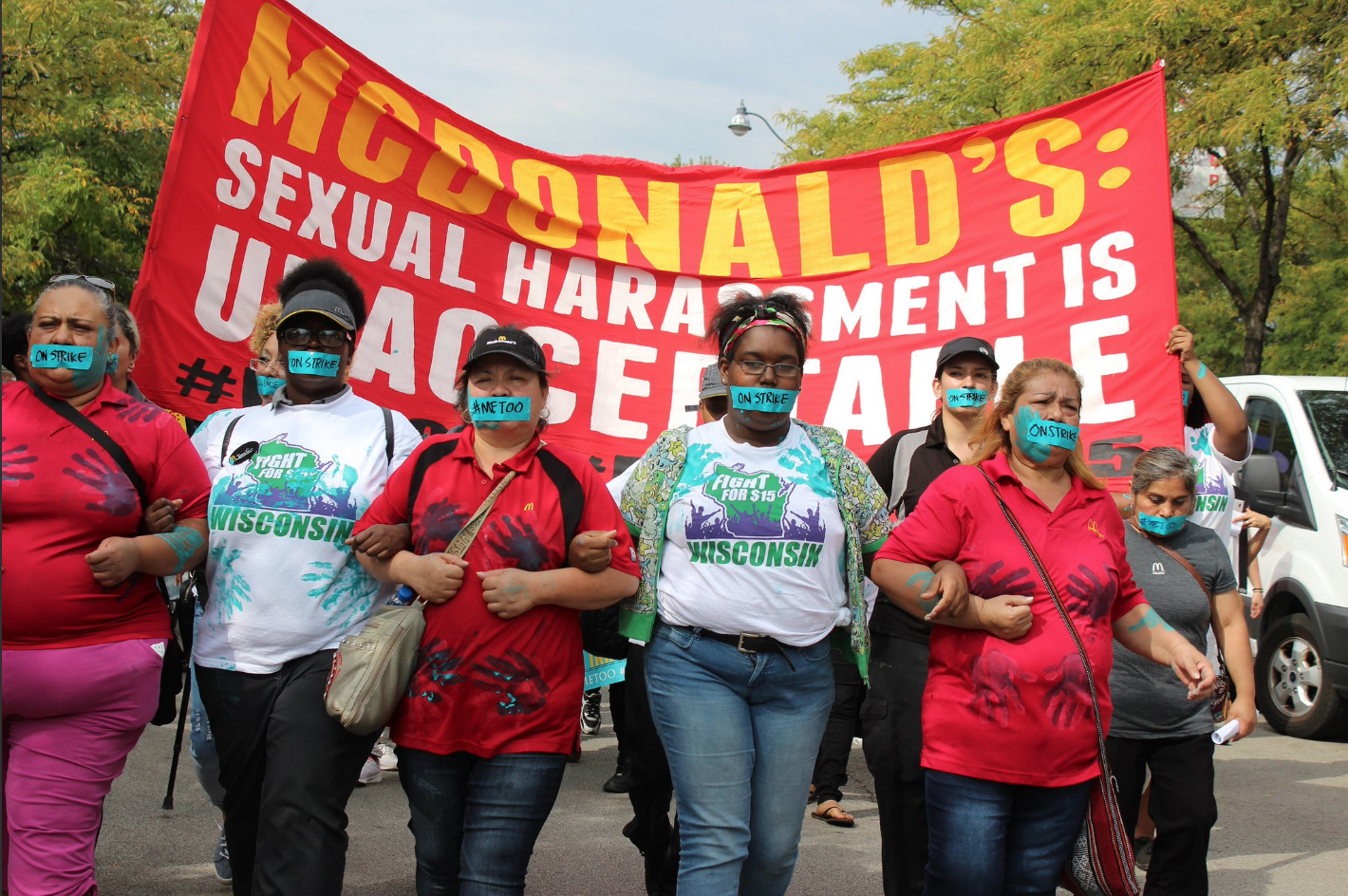 #MeTooMcDonalds: Fast-Food Workers Just Made History with a Nationwide Strike Against Sexual Harassment - Ms. Magazine Blog