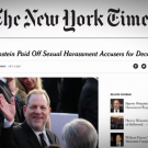 Looking Back on a Year of #MeToo in the Media