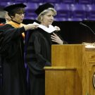 Ms. Executive Editor Katherine Spillar Presented With an Honorary Doctorate