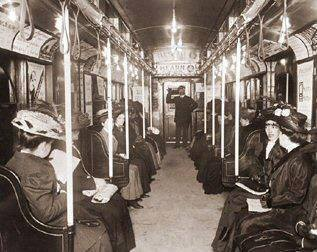 Today in Feminist History: Are Women-Only Train Cars the Future? (April 1, 1909)