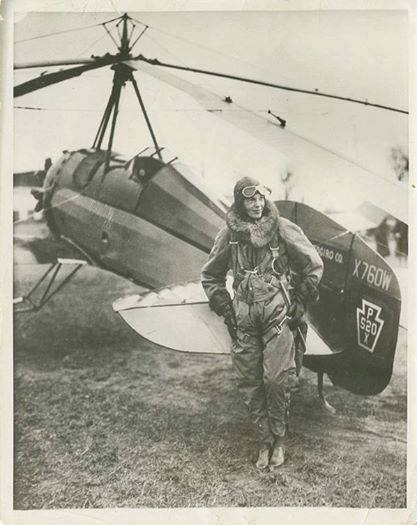 Today in Feminist History: Amelia Earhart's Multiple-Record-Breaking Day (April 8, 1931)