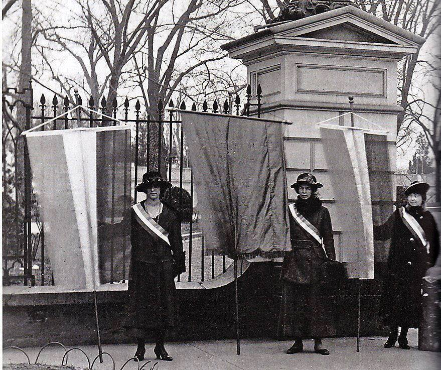 Today in Feminist History: Meet the Silent Sentinels