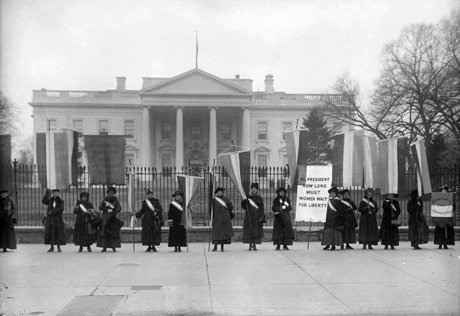 Today in Feminist History: The Silent Sentinels are More Popular Than Ever