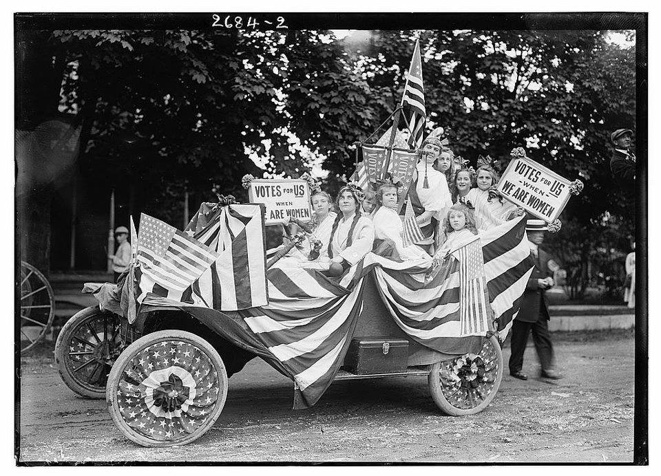 """Today in Feminist History: """"Votes for Women!"""" [and Parades Too!] (May 24, 1913)"""