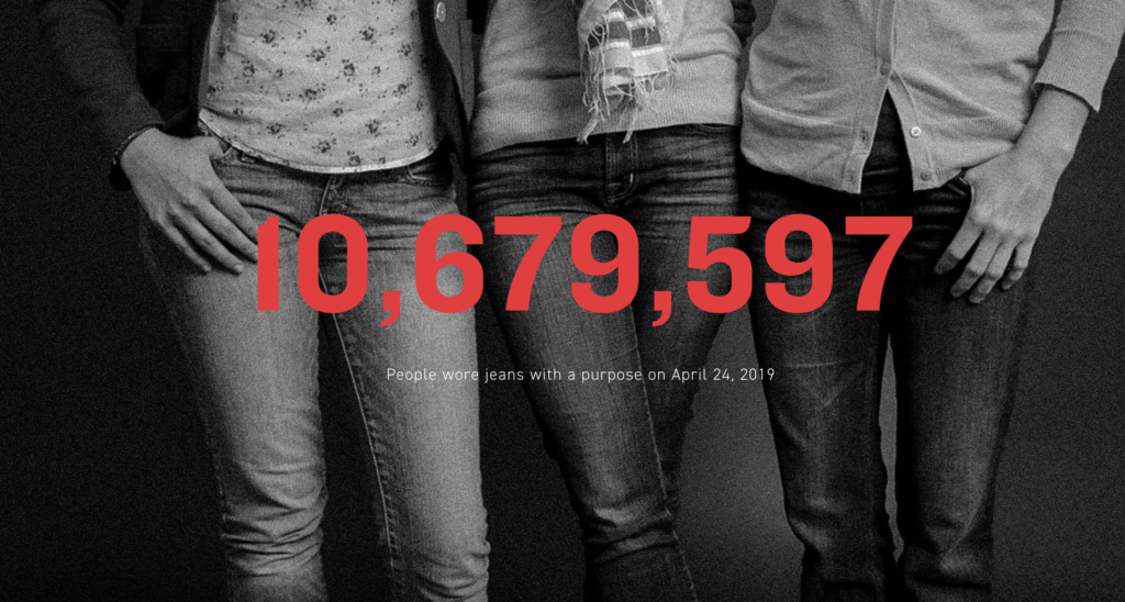 """""""My Jeans Protest Violence"""": #DenimDay2020 Reminds Survivors They Are Not to Blame"""