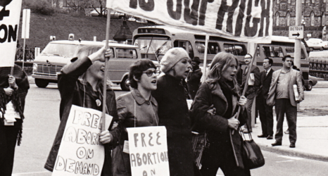 "In Protest of Anti-Choice Legislation, ""The Abortion Caravan"" Shut Down Canadian Parliament 50 Years Ago"