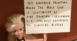 We Heart: ArtActivistBarbie Taking on Patriarchy in the Art World