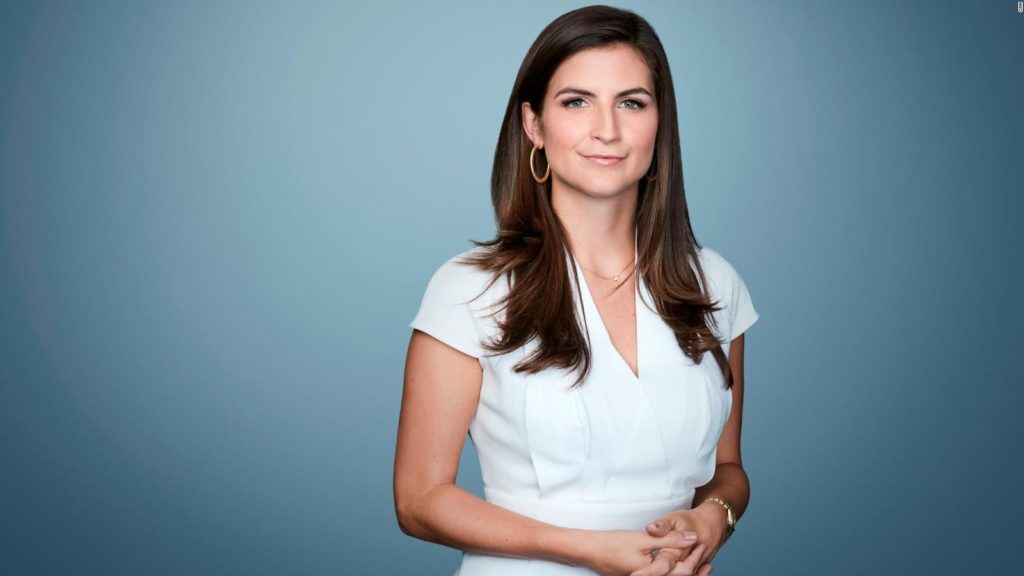 Trump Attempted to Move a Reporter to Back of the Room. Nevertheless, She Resisted. Kaitlan-Collins-cnn-trump-white-house