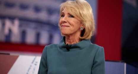 """Devos's Campus Sexual Assault Regulations are an """"Abomination"""""""