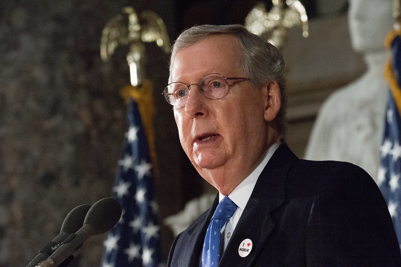 Mitch McConnell Prioritizes Judges Over the Pandemic Response